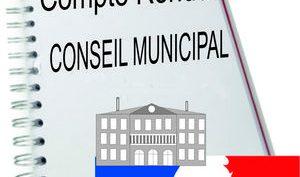 Les séances du Conseil Municipal